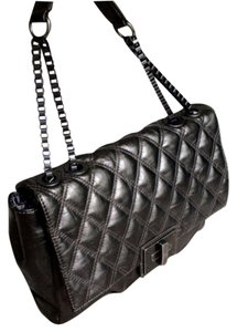 Simply Vera Vera Wang Leather Handbag Quilted Handbag Shoulder Bag