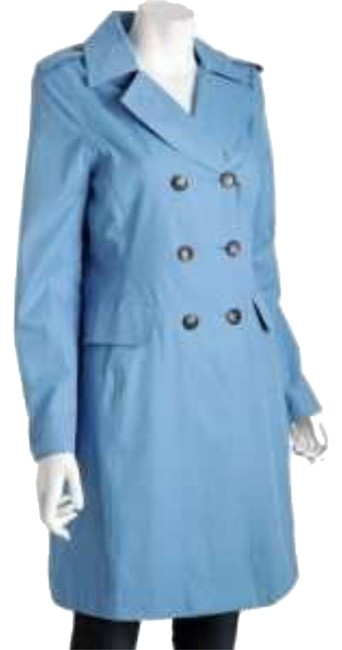 Item - Light Blue By Trench Coat Size 4 (S)