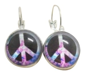 Pierced Peace Earrings