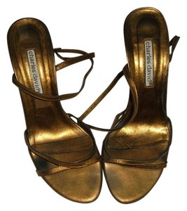 Charles David Copper Sandals