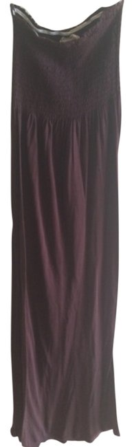 Brown Maxi Dress by Pink Rose