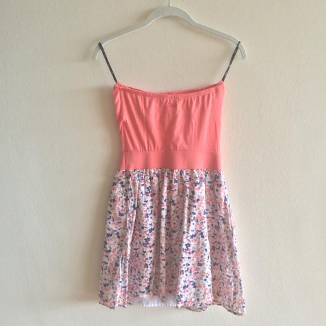 Express short dress Pink, white, and blue. on Tradesy