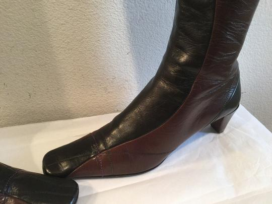 Prada Brown and black Boots