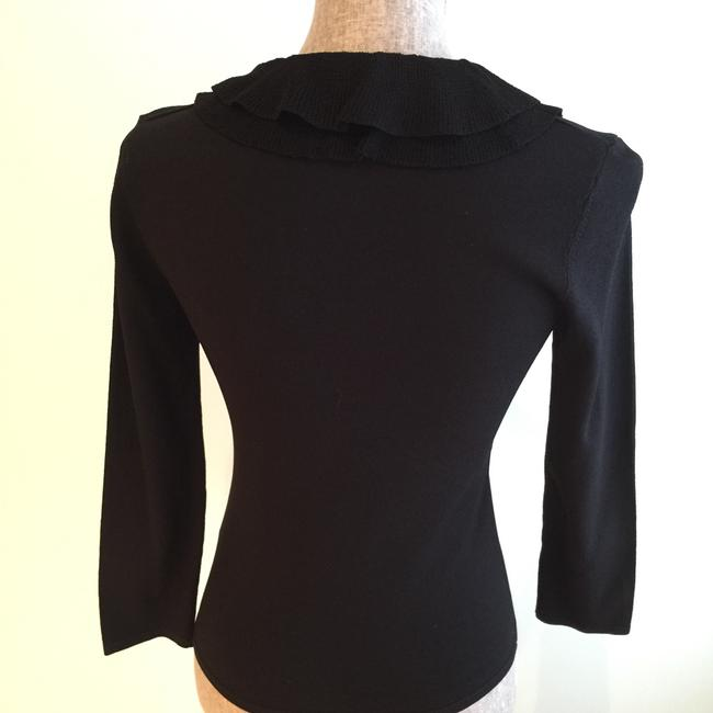 Other V-neck Tops Ruffled Tops Size Small Tops Top Black