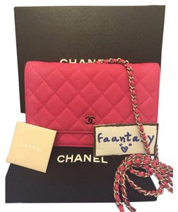 Chanel Woc Wallet On Chain Cross Body Bag