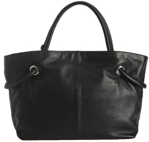 Furla Leather Tote in Black