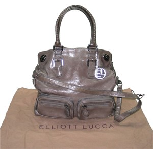 Elliott Lucca Leather Tote Shoulder Bag
