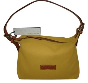 Dooney & Bourke Satchel in Harvest Golden Yellow