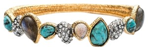 Alexis Bittar ALEXIS BITTAR NWT STACKING HINGE TURQUOISE BRACELET