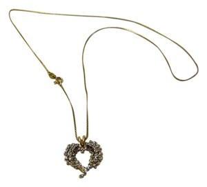 Technibond Technibond Diamond Accented Heart Pendant with Chain HSN