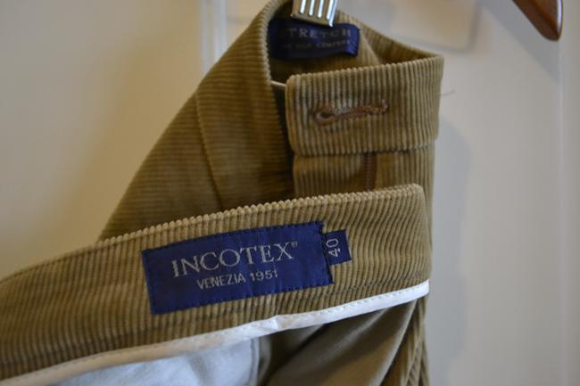 Incotex Casual Relaxed Pants beige
