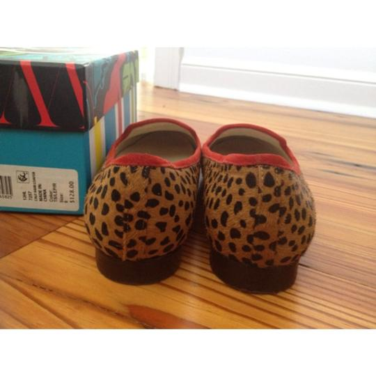 C. Wonder Leopard/red Flats