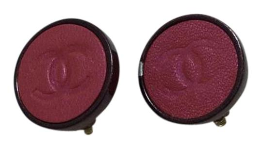 Preload https://item1.tradesy.com/images/chanel-pink-2-tone-clip-on-earrings-6062650-0-3.jpg?width=440&height=440