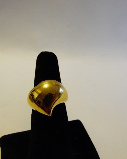 Technibond Technibond Goldplated over .925 Sterling Silver Heart Ring size 8