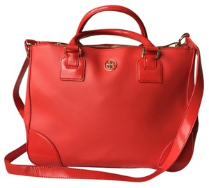 Tory Burch Satchel in Poppy Red