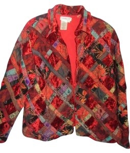 Coldwater Creek multi quilt Jacket