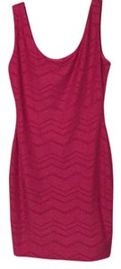 Xhilaration short dress Hot pink on Tradesy