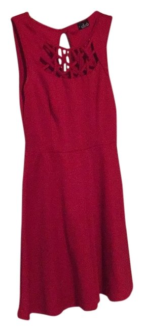 DEB short dress Red on Tradesy