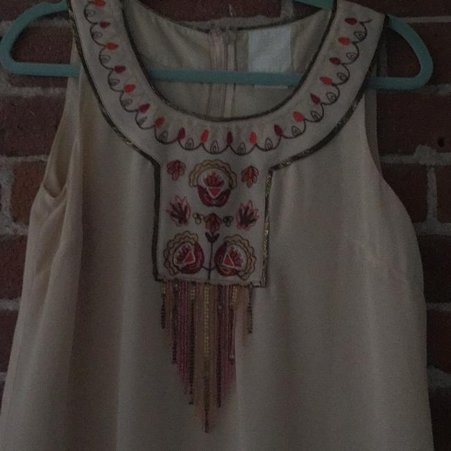 Anna Sui for Anthroplogie short dress Ivory on Tradesy