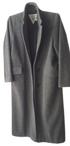 Marvin Richards Wool Hollywood Full Length Trench Coat