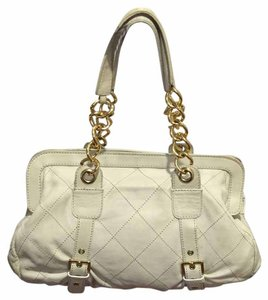 Berge Satchel in Beige