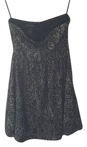 MM Couture short dress Black and taupe on Tradesy