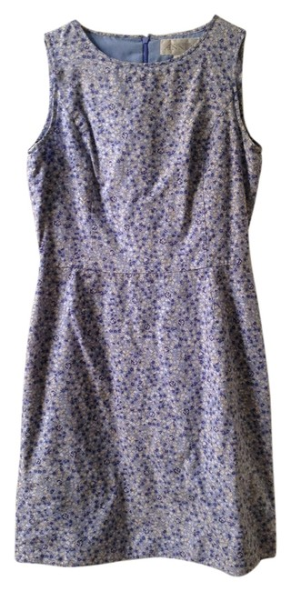 Casual Corner Annex short dress Blue/Flowers on Tradesy