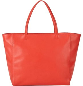 Barneys New York Super Soft Leather Red!!!! Tote in Red