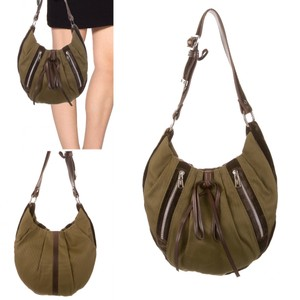 Saint Laurent Ysl Canvas Suede New Sale Hobo Bag
