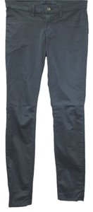 J Brand Stretchy Cotton Skinny Pants NAVY BLUE