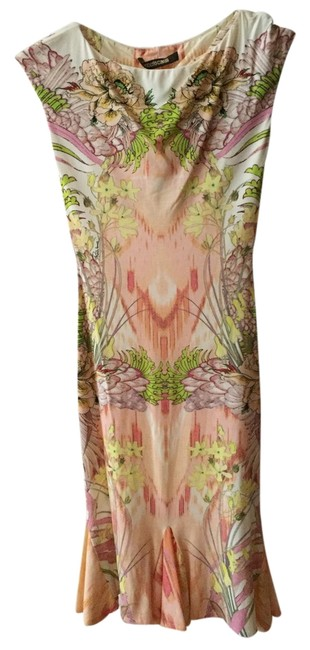 Preload https://item1.tradesy.com/images/roberto-cavalli-pink-and-green-printed-above-knee-cocktail-dress-size-0-xs-6064195-0-0.jpg?width=400&height=650