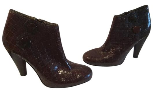 Preload https://item1.tradesy.com/images/twelfth-st-by-cynthia-vincent-price-reduction-brown-embossed-all-leather-inc-cylinder-heels-zippers--6064270-0-0.jpg?width=440&height=440