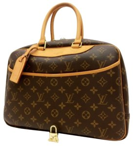 Louis Vuitton Deauville Deauville Gm Lv Deauville Lv Lv Lv Dustbag Lv Lock And Key Handbag Lock And Key Dustbag Lv Monogram Mm Tote in Brown