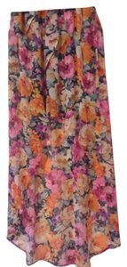 Forever 21 Maxi Skirt Multi color