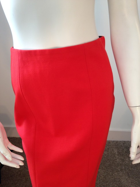 Ann Taylor Pencil Skirt Red