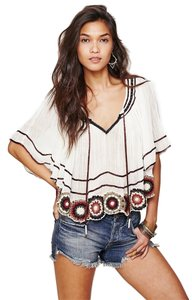 Free People Women Clothing Top Ivory