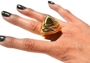 Jules Kim / Smashbox NEW Smashbox Limited Edition The Santigolden Age Be Legendary Snake Pyramid Lipstick Ring - (Still Kickin)