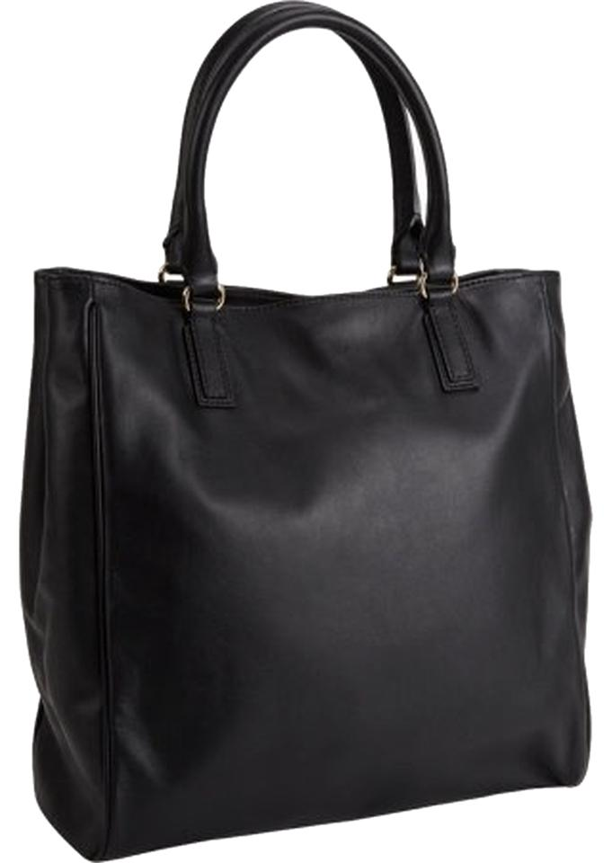 8fa1f3a853 Barneys New York Is Amazing Black Leather Tote - Tradesy