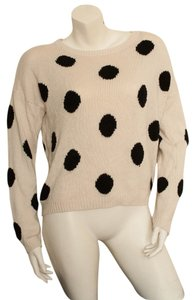 H&M Polka Dot Wool Vintage Style Sweater