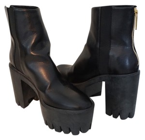 Stella McCartney Chunky Ready To Wear Black Boots