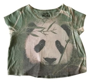 Mudd Panda Crop J Small T Shirt *
