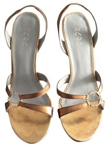 BCBG Paris Antique gold metallic Formal