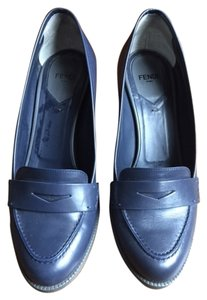 Fendi Navy Pumps