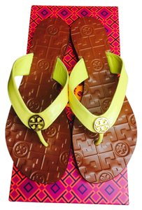 Tory Burch Sunny Yellow Sandals