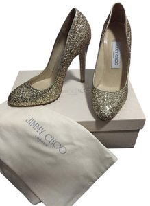 Jimmy Choo Champagne Pumps