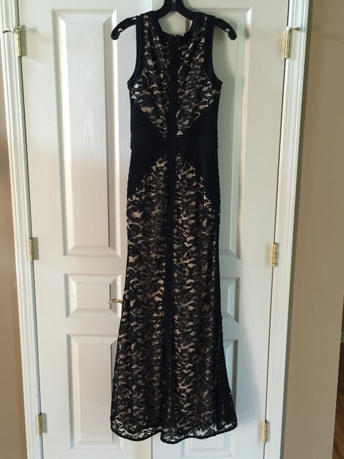 Betsy & Adam Lace Gown Dress