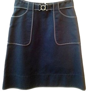 DKNY Skirt NAVY BLUE