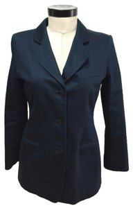 Giorgio Armani Cotton Lined Midnight Blue Jacket