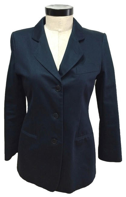 Preload https://item4.tradesy.com/images/giorgio-armani-midnight-blue-cotton-lined-size-6-s-6067543-0-0.jpg?width=400&height=650