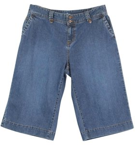 Style & Co Denim 5 Pockets 10p Bermuda Shorts Blue